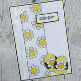 CCST18: Craft Buddy Easter Party, Crystal Art A5 Stamp Set
