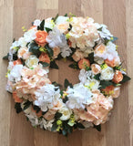 Forever Flowerz Set of 2 28cm Triple Spike Wreaths - FF-WR28*2