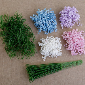 FF-GYPKT2: Forever Flowerz Vintage Gypsophila and Stems Kit