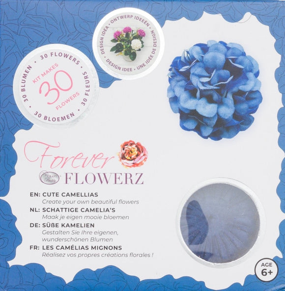 Flower Making Kit - Cute Camellias - SAPPHIRE- FF01SP