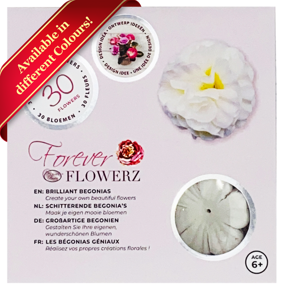 FF07: Forever Flowerz Brilliant Begonias Starter Kit - Makes approx 30 Flowers