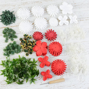 Forever Fowerz Festive Flowerz mix - makes approx 120 Flowers