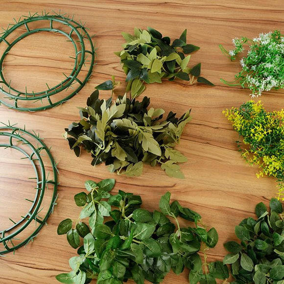 Forever Flowerz Large Wreaths, Leaves and Foliage Bumper Kit - FF-WR3KT