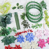 Forever Flowerz: Festive Poinsettias Complete Collection - FF-POIN100XMCOMP