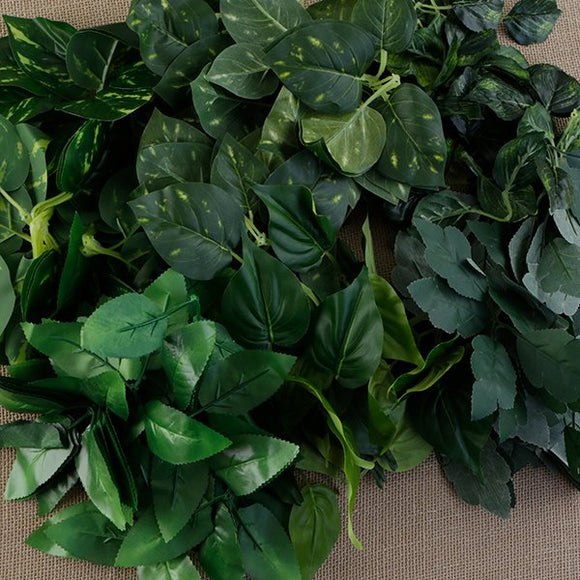 FF-LEAKT6: Forever Flowerz 6 packs of Assorted Leaves- 180 stems