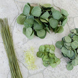 Forever Flowerz Eucalyptus Leaves and Stems Kit - FF-EUC1