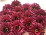 FF-GERB-BRG: Forever Flowerz Gorgeous Gerberas - VINTAGE makes approx 90 flowers