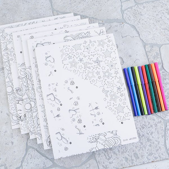 P3D007: Craft Buddy 3D Colour Me Puzzle Kits - Holiday Villa