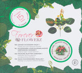 Flower Making Kit - Leaves Accessory Pack - Stems and Foliage Kit 1 - FFL01