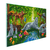"CAK-A63: ""Meeting in the Forest"" Framed Crystal Art Kit, 40 x 90cm"