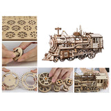 Robotime - Mechanical Train kit - LK701