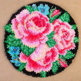 Craft Buddy 50cm Round Latch Hook Rug Kit - OPTIONS AVAILABLE