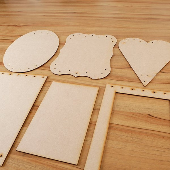 Forever Flowerz Large MDF Blanks Set of 6 - MDF-PLFR6
