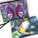 CA-PURKT2: Craft Buddy Crystal Art Purse Kit SET of 2