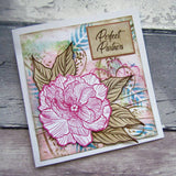 Forever Flowerz: Perfect Peonies A5 Stamp Set - FS07