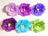 Craft Buddy Crepe Paper Assortment set of 6 - Purple Haze - CB-PRP