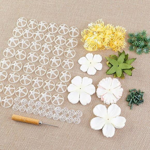 Forever Flowerz Perfect Peonies Flower Making Kit - Makes approx 20 Peonies - VARIANTS AVAILABLE