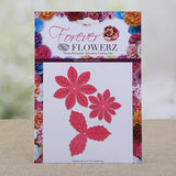 FD06: Forever Flowerz - Pretty Poinsettias Die Set