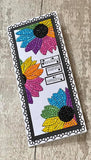 CCST27: Sunflower Sparkle Crystal Art A6 Stamp Set