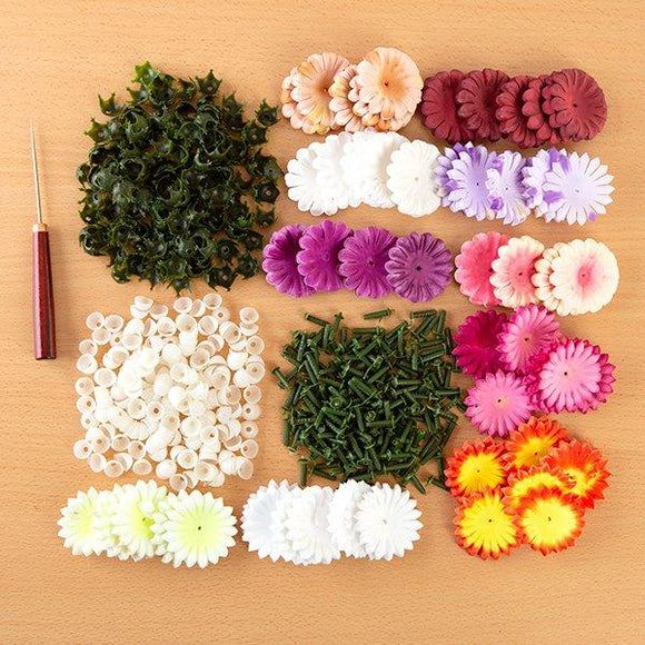 Flower Making Kit Chrysanthemums and Camellias - Makes 200 Flowers
