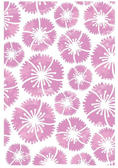 Country Garden Bouquet Stencil (DBST02)