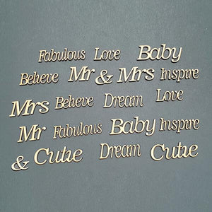 20 Fabulous MDF Sentiments