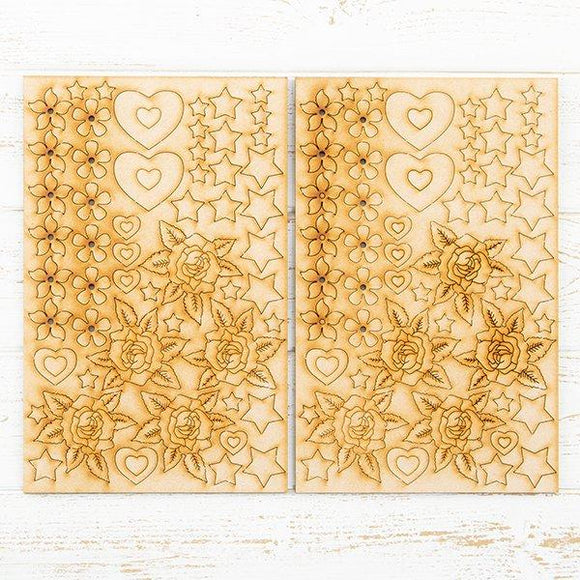 MDF Magical Embellishments - Set of 2 Sheets