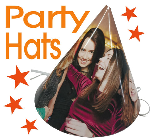 Personalised Party Hats and Face Masks