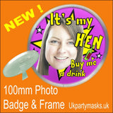 ukpartymasks 100mm Badge