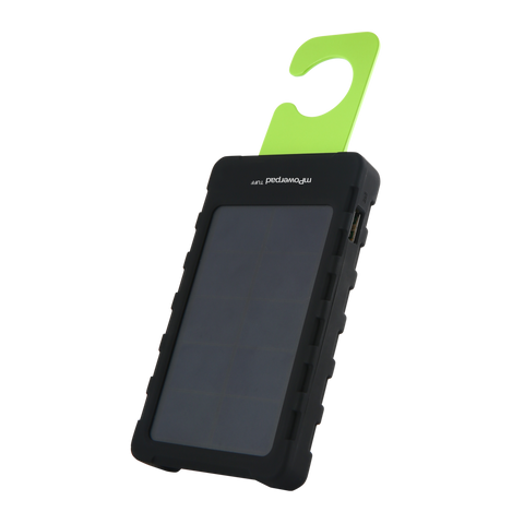 mPowerpad Tuff solar charger and light (3000 mAh)