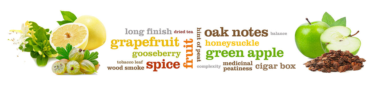 18 Year Old Word Cloud Flavours- Whisky