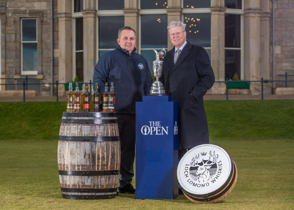 Colin Matthews, CEO of Loch Lomond Group & Martin Slumbers, Chief Executive of The R&A