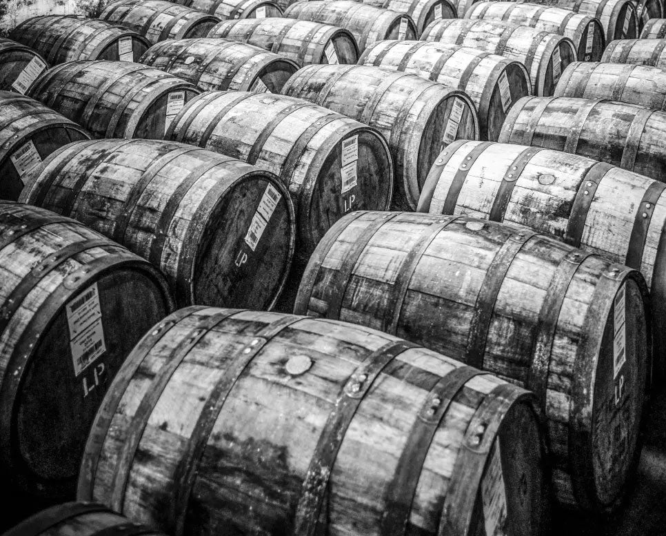 Lots of Whisky Barrels