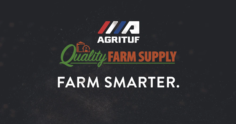 Quality Farm Supply carrying Agrituf product line