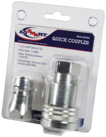 1/2 inch Hydraulic QC Coupler with ISO Nipple - Quality Farm Supply