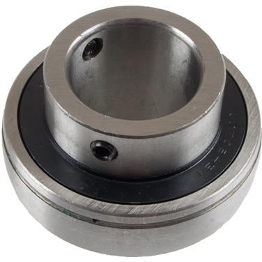 "1-1/2"" Bore Greasable Insert Bearing w/ Set Screw - Spherical Race - Quality Farm Supply"