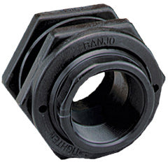 "BULKHEAD TANK FITTINGS FLANGE ASSEMBLY EPDM - 1.25"" - Quality Farm Supply"