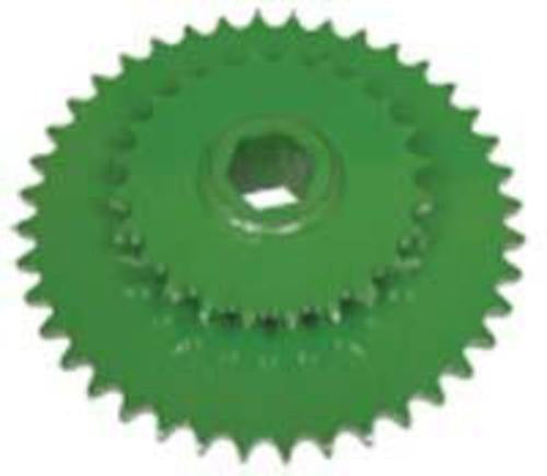 "AGSMART LOWER ROLLER DRIVE SPROCKET, 1-1/2"" HEX - Quality Farm Supply"