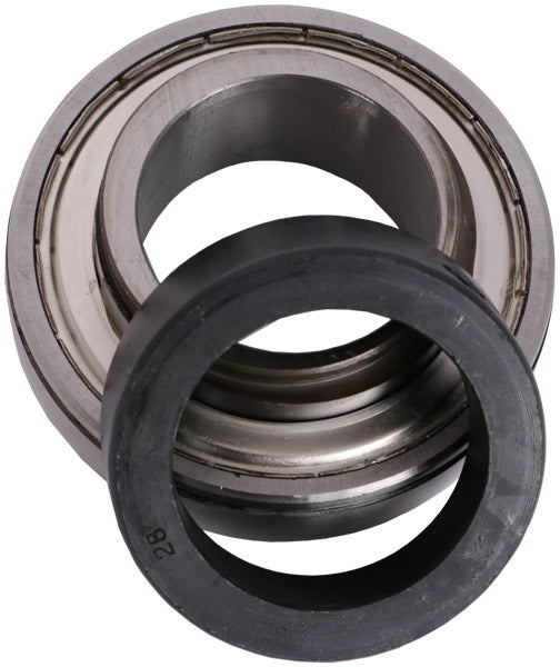 1-3/4 INCH BORE GREASABLE INSERT BEARING W/ COLLAR - SPHERICAL RACE - Quality Farm Supply