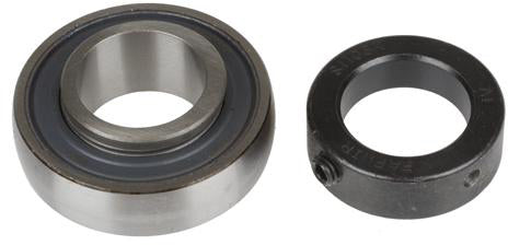 1-3/8 INCH BORE GREASABLE INSERT BEARING W/ COLLAR - SPHERICAL RACE - Quality Farm Supply