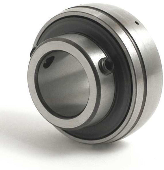 1-3/8 INCH BORE GREASABLE INSERT BEARING W/ SET SCREW - SPHERICAL RACE - Quality Farm Supply