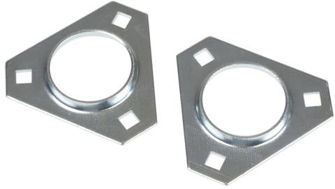 47MM TRIANGULAR FLANGE PAIR - Quality Farm Supply
