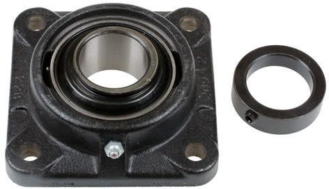 "2"" 4 Hole Cast Iron Flanged Bearing - With Eccentric Locking Collar - Quality Farm Supply"