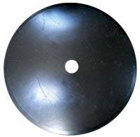 22 INCH X 1/4 INCH SMOOTH DISC BLADE WITH 1-1/2 INCH ROUND AXLE - Quality Farm Supply