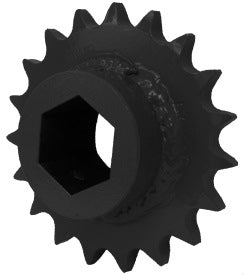BALER PICKUP DRIVE SPROCKET - 1-1/4 HEX - Quality Farm Supply
