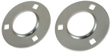 62MM 3-Hole Round Flange Pair - Quality Farm Supply