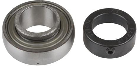 "1"" Bore Greasable Insert Bearing w/ Collar - Spherical Race - Quality Farm Supply"