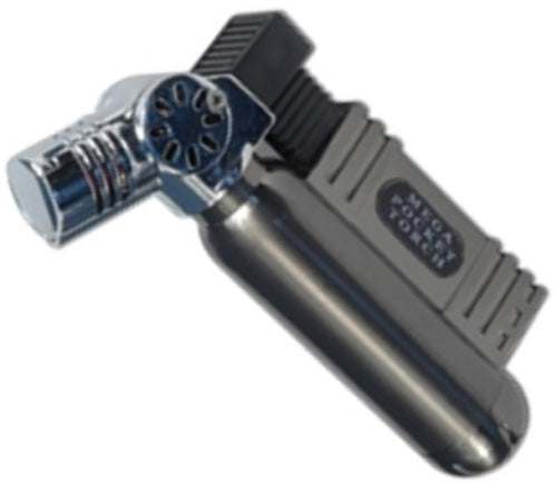 BUTANE POCKET TORCH ANGLED HEAD - REFILLABLE - Quality Farm Supply