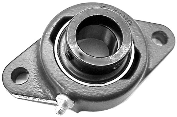 OEM Style Two-Bolt Flange Assembly with Cast Iron Housing, Fafnir - Quality Farm Supply