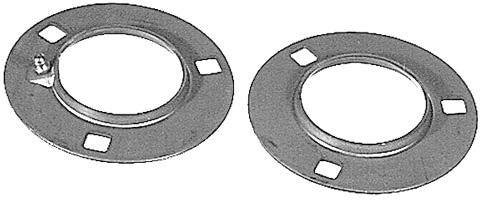 52MM 3 HOLE RELUBE FLANGE PAIR - Quality Farm Supply
